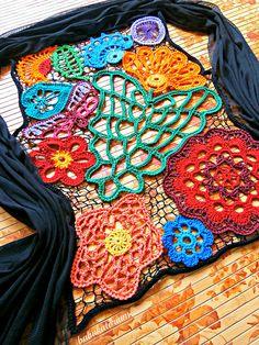 Irish Lace Vest by babukatorium, - a creative genius!