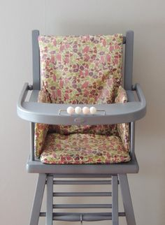 Couture housses de chaises hautes on pinterest liberty - Habillage de chaise ...