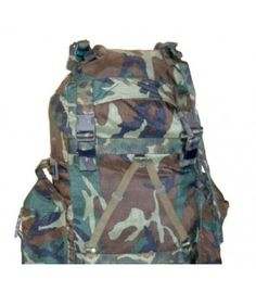 Italian Nylon Backpack Camo This is one of the best packs we have had! Excellent quality nylon.