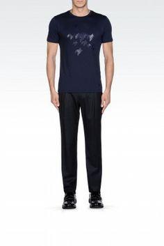 Camiseta Emporio Armani Men's Short Sleeve T-Shirt Dark Blue M1T23JM18NJ1921 #Emporio Armani#Camiseta