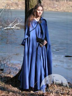 Handmade Woolen Medieval Cloak