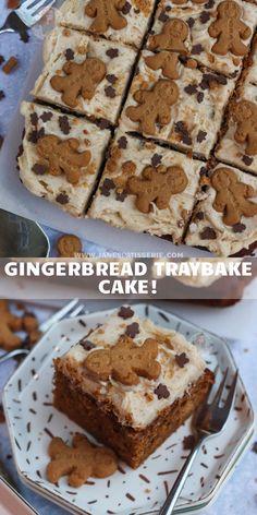 Tray Bake Recipes, Cupcake Recipes, Baking Recipes, Dessert Recipes, Baking Ideas, Fudge Recipes, Dessert Ideas, Cake Ideas, Carrot Cake Traybake