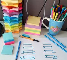 Use Post-It notes to jot down information you're having a tough time remembering. | 14 Useful Hacks If You Hate Studying