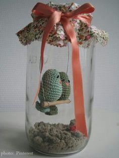 Crochet bird
