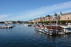 Stockholm, Strandvägen - an impressive place in this great city.