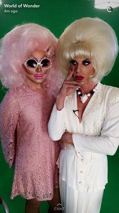 Trixie Mattel and Katya!!