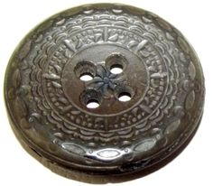 Antique Button RARE Novelty Rubber Co. Goodyears Patent 1849-51 New York #NoveltyRubberCoGoodyearsPatent