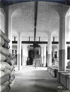 Lagerhaus Zürich-Giesshübel, 1910