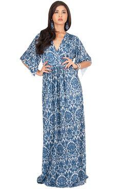 afb5df89486 Maternity Styles - dressy maternity maxi dress   KOH KOH Plus Size Womens  Long Kaftan Lace