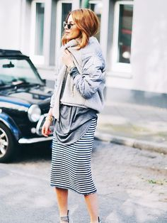 10 Incredibly Stylish Outfits to Copy This Weekend via @WhoWhatWear