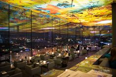 Le Loft Bar @ Sofitel Stephansdom in Vienna Austria. Absolutely stunning rooftop bar. photo credit: Tee Tran