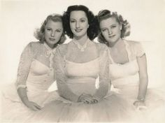 "June Allyson, Virginia O' Brien, and Betty Jaynes in ""Meet The People"" (1944)"