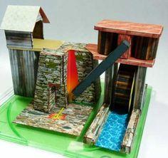 Buildings - Papercraft4u | Free Papercrafts, Paper Toys, Paper Models, Gratis   -   Iron Furnace
