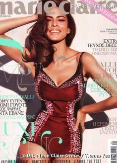 Eva Mendes for Marie Claire Greece, April 2012