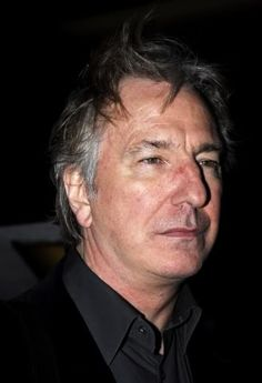 """Alan Rickman, former student of the drama school RADA attend the premiere of """"Perfume"""" at the Curzon cinema in Mayfair. Dec 5, 2006"""