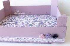 Shabby Boxes, Fruit Box, Wooden Crates, Sewing Box, Diy Recycle, Wood Boxes, Diy Furniture, Decoupage, Diy And Crafts