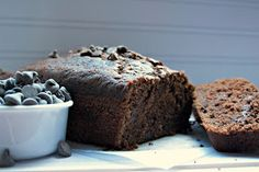 life could be a dream: double chocolate zucchini bread