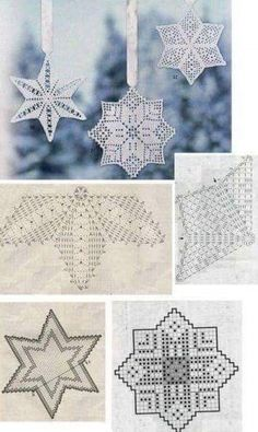 Best 12 Star Christmas: crochet ornaments – with diagram by Jeroen En Franciska Jonkman – SkillOfKing.Com Best 12 Star Christmas: crochet ornaments – with diagram by Jeroen En Franciska Jonkman – SkillOfKing. Filet Crochet, Crochet Diagram, Crochet Motif, Crochet Doilies, Crochet Flowers, Crochet Lace, Crochet Designs, Crochet Snowflake Pattern, Christmas Crochet Patterns