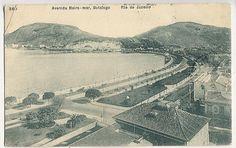Praia de Botafogo - c. 1910, via Flickr.