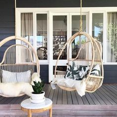 Can you imagine this morning sitting in these @empirehomewares chairs looking out on an incredible garden designed by the talented @mon_palmer #goals #theperthcollective