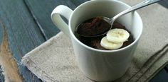 Paleo Chocolate Mug Cake: just tried it. Pomade coconut milk whipped cream to top it off. Very yummy! paleo breakfast mug Paleo Dessert, Healthy Sweets, Dessert Recipes, Mug Recipes, Whole Food Recipes, Cooking Recipes, Chocolate Mug Cakes, Gluten Free Chocolate, Chocolate Chips
