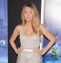 Blake Lively's Barely There Makeup Look From Her Man's Turbo Premiere is a Day-to-Night Do