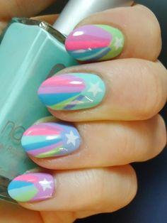 Starburst nails