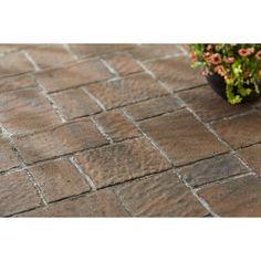 Shop Tranquil Four Cobble Concrete Patio Stone (Common: 16 In X 16