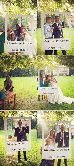 DIY wedding: 30 ideas to make an original photobooth Organisation mariage Wedding Bells, Diy Wedding, Wedding Reception, Rustic Wedding, Dream Wedding, Wedding Day, Trendy Wedding, Wedding Games, Wedding Vintage