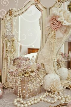 Jennelise: Pearls, Stockings, Gillyflowers, and Glitter