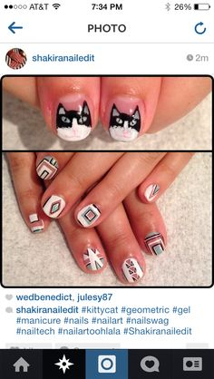 No cats please but yes please to the geometric design