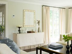 """Low Ceilings 7'10"""" in the expert hands of Susan Marinello Interiors, in her own home."""