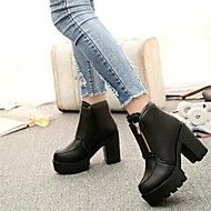 Women's Shoes Fashion Boots Chunky Heel Ankle Boots