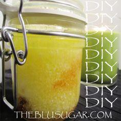 DIY Tea Tree Oil Epsom Salt Body Scrub