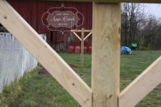 DIY clothesline with cheap landscaping timbers. I can build this!