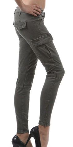 NWT SKINNY CARGO'S WITH ZIPPER ANKLES...ALL SIZES