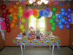 Inspirasi balon dekorasi ulang tahun anak