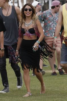 Vanessa Hudgens Coachella Weekend 2