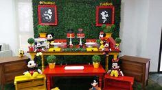 Locação Decoração Mickey e Minnei