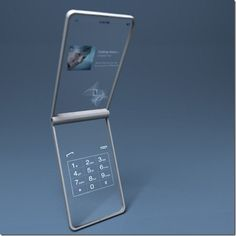 Future technology Phones of future -- this phone which is also holographic would be nice.