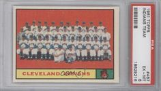 Cleveland Indians TC PSA GRADED 6 (Baseball Card) 1961 Topps #467 by Topps. $13.00. 1961 Topps #467 - Cleveland Indians TC PSA GRADED 6