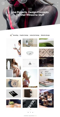 9 New Best Responsive Themes (5th Nov 2014) #website #design