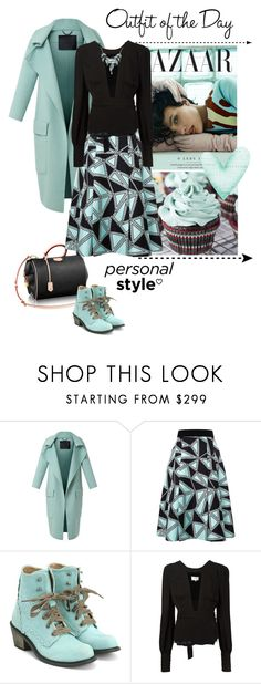 """""""My way"""" by hana-beatovic ❤ liked on Polyvore featuring Louis Vuitton, Burberry, FAUSTO PUGLISI, John Fluevog, Maison Margiela, Petit Bateau and outfitoftheday"""