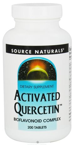 quercetin. 1000mg rec dose (Chris beats cancer)