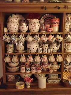 My Favourite Emma Bridgewater Display - Pink Hearts