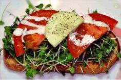 Microgreens Salad Photo Gallery | Salads Pictures