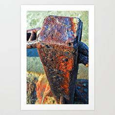 New print available at the Scott Pond Design Studios Store: Pillar of Support Art Print by Scott E. Pond