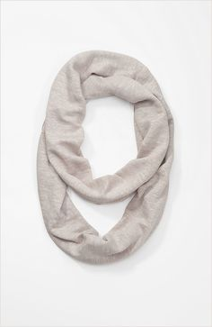 Shoes & Accessories > summer linen knit infinity scarf at J.Jill