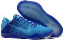 7cb1d8a55b144 Nike Kobe 11 All Royal Blue Grey Sneakers 2016, Blue Sneakers, Shoes 2016,