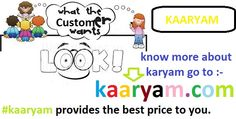 Check kaaryam , if you need best price for our daily home services . www.kaaryam.com